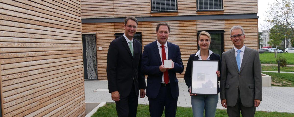 Hugo-Häring-Auszeichnung für Modulbauten in Winnenden-Schelmenholz Gruppenbild